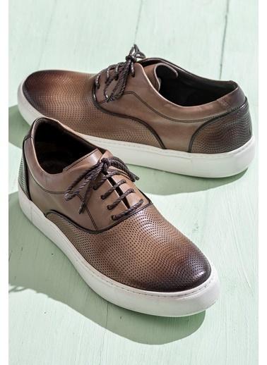 Elle Sneaker Ayakkabı Camel